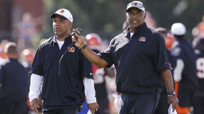 hue jackson and marvin lewis